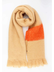 """Scarf """"Cemil"""" brown"""