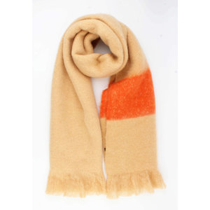 "Scarf ""Cemil"" brown"