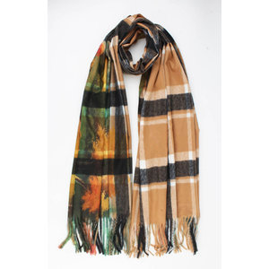 "Scarf ""Totorita"" brown"