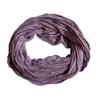 Jersey sjaal loop paars gestreept 413828