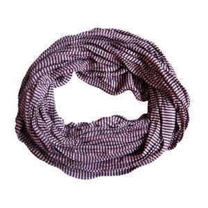 Jersey Schal Schleife lila gestreift 413828