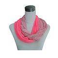 Jersey sjaal loop rose 861038