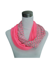 Jersey scarf loop rose 861038