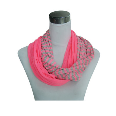 Jersey scarf loop rose 861038