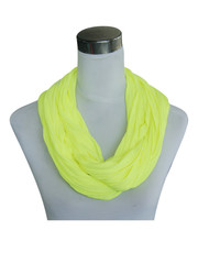 JERSEY SCARF LOOP Neon yellow 861006