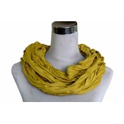 Uni Jersey scarf yellow ocher 861001-9004