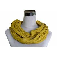 Uni Jersey Schal gelb ocker 861001-9004