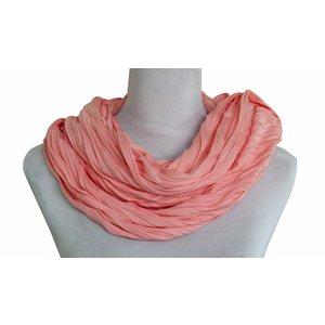Sjaal Uni Jersey licht koraal 861001-8002