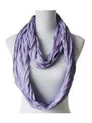 Sjaal Uni Jersey plum