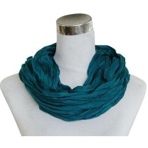 Sjaal Uni Jersey donker cyaan 861001-5154