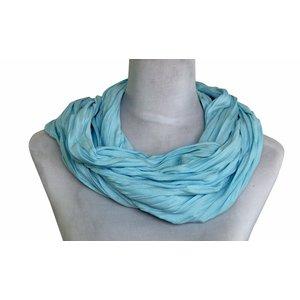 Sjaal Uni Jersey aqua 861001-5087