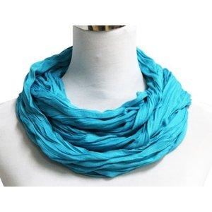 SCARF UNI JERSEY dark Turquoise 861001-5007