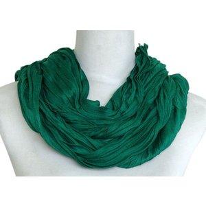 SJAAL UNI JERSEY donker groen 861001-4117