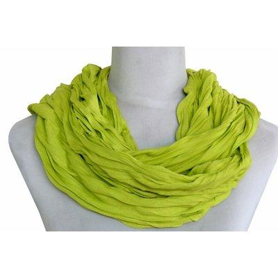SCHAL UNI JERSEY grün gelb 861001-4020