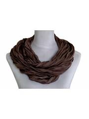 SCARF UNI JERSEY dark brown 861001-3160