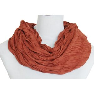 SCARF UNI JERSEY chocolate brown 861001-3038