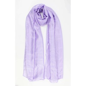 "Scarf ""Flax"" purple"