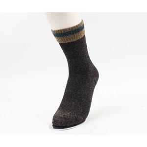 """Socken """"Omak"""" anthrazit"""