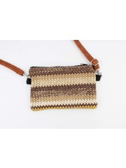 "Crossbody bag ""Roblin"" brown"