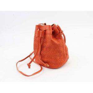 "Crossbody bag ""Souris"" rust"