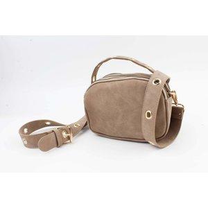 "Crossbody bag ""Minaki"" taupe"