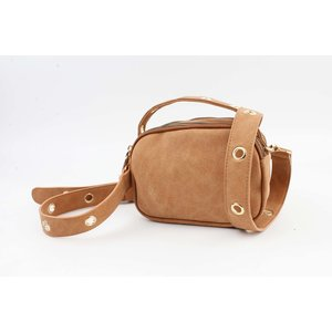 "Crossbody bag ""Minaki"" brown"
