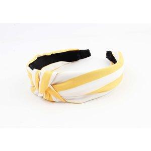 """Haarband """"Gami"""" geel"""