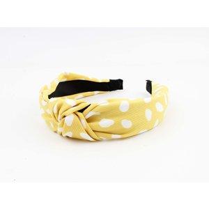 """Haarband """"Sarre"""" geel"""