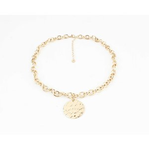 "Necklace ""Beluga"" gold"