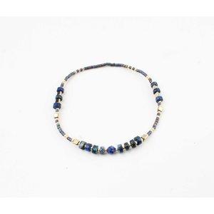 """Bracelet """"Mentasta"""" blue"""