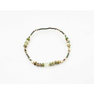 "Bracelet ""Mentasta"" green"