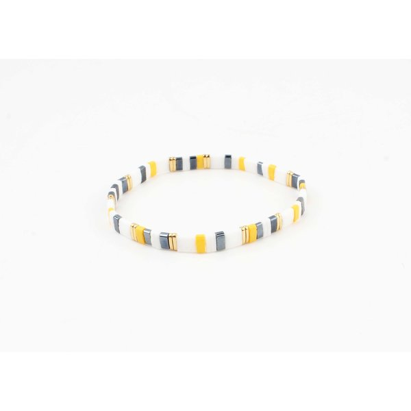"Armband ""Yukon"" geel/multi"