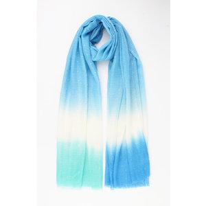 """Sjaal """"Lemmon"""" blauw"""