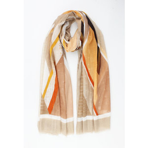 """Scarf """"Ismay"""" brown"""
