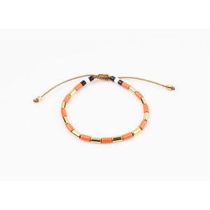 "Bracelet ""Almota"" rust / gold"