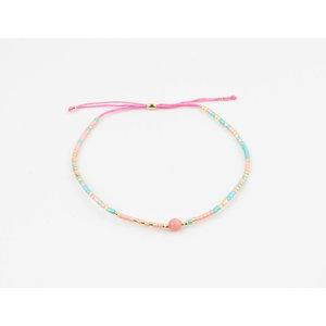 "Bracelet ""Peola"" pink"