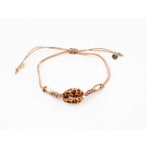 "Bracelet ""Joso"" pink / gold"