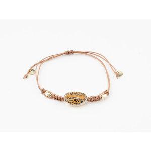 "Armband ""Moona"" roze/goud"
