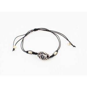 "Bracelet ""Zillah"" black / gold"