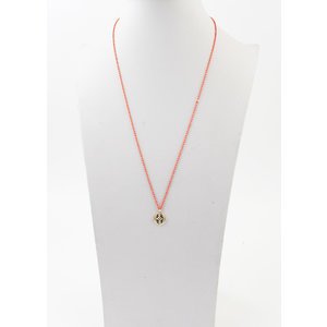 """Necklace """"Marion"""" rust"""