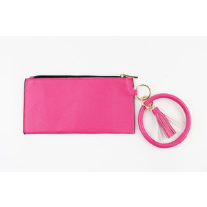 "Clutch ""Yette"" pink"