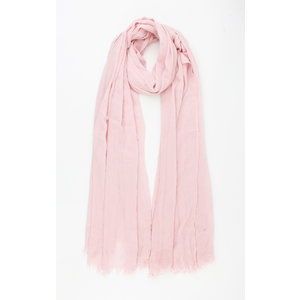 """Sjaal """"Cherry"""" roze"""