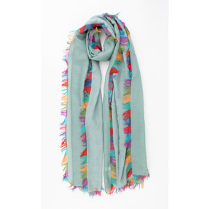 "Scarf ""Meredith"" green"