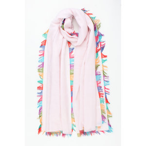 "Scarf ""Meredith"" pink"