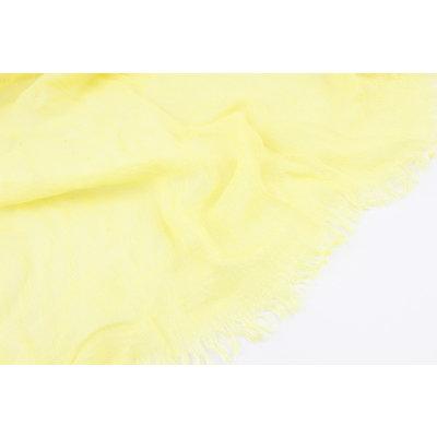 """Sjaal """"Cherry"""" geel"""