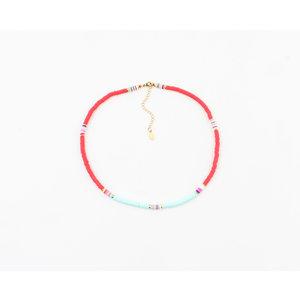 "Necklace ""Kalama"" red"