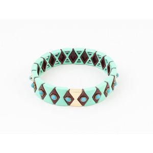 """Armband """"Yale"""" turquoise"""