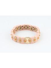 """Bracelet """"Yale"""" pink"""