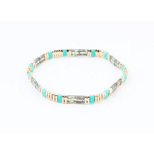 "Bracelet ""Delena"" turquoise / green"
