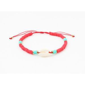 """Bracelet """"Ariel"""" red"""